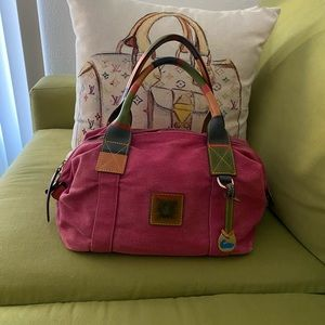 Dooney and Bourke Canvass Purse 1975